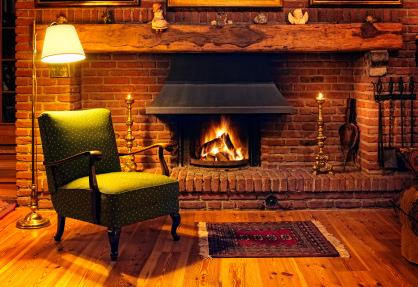 Fireplace Smoke Guard System